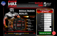 Nitric Max Muscle - Madrid